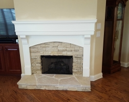 Indoor Fireplace