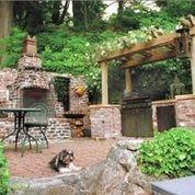 Brick Barbecue