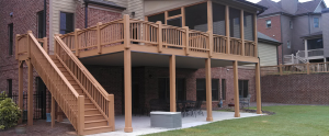 Build an under deck patio that has an expertly designed under deck drainage system and use ContractorMen 3580 Polly's Bluff Cumming, GA 30028 to get the job done right!