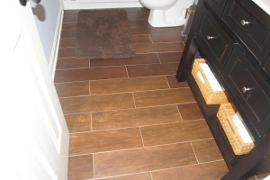 You have may bathroom flooring choices. Consider tile that looks like wood! Ask the expert contrators at ContractorMen-3580 Polly's Bluff-Cumming-GA-30028 to help you choose the best flooring option for your budget.