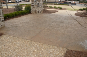 Stamped Concrete makes an excellent outdoor kitchen floor choice. Hiring the professionals at ContractorMen  3580 Polly's Bluff Cumming, GA  30028 to install it is even better.
